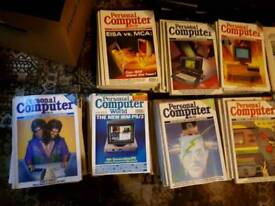 100+ Personal Computer World magazines