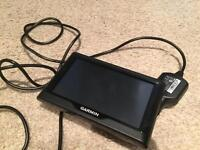 Garmin SatNav and in car charger - Used but in good condition