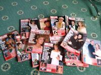 Hello magazines dated 1992- 1994