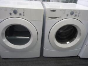217- Laveuse Sécheuse Frontales WHIRLPOOL  Frontload Washer and Dryer