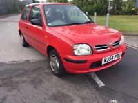 2000 NISSAN MICRA 1.0..LOW MILES..QUICK SALE