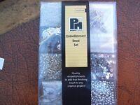 Papermaia embellishment bead set new un-used