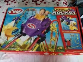 K'Nex Rippin Rocket Rollercoaster
