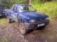 toyota hilux pickups wanted, any age and condition (2.4d / td / d4d) diesel 4x4