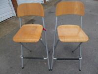2 x Kitchen Stools Ikea