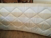Single mattress, less than a year old, excellent condition