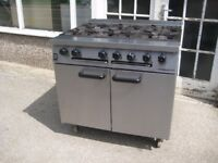 Falcon Dominator G1107 OT 6 burner commercial cooker large oven.
