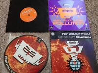 PWEI (POP WILL EAT ITSELF) - Rare limited edition 7 inch vinyls