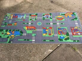 Play road mat