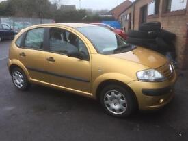 Citroen c3 1.4 petrol swap or sale £375