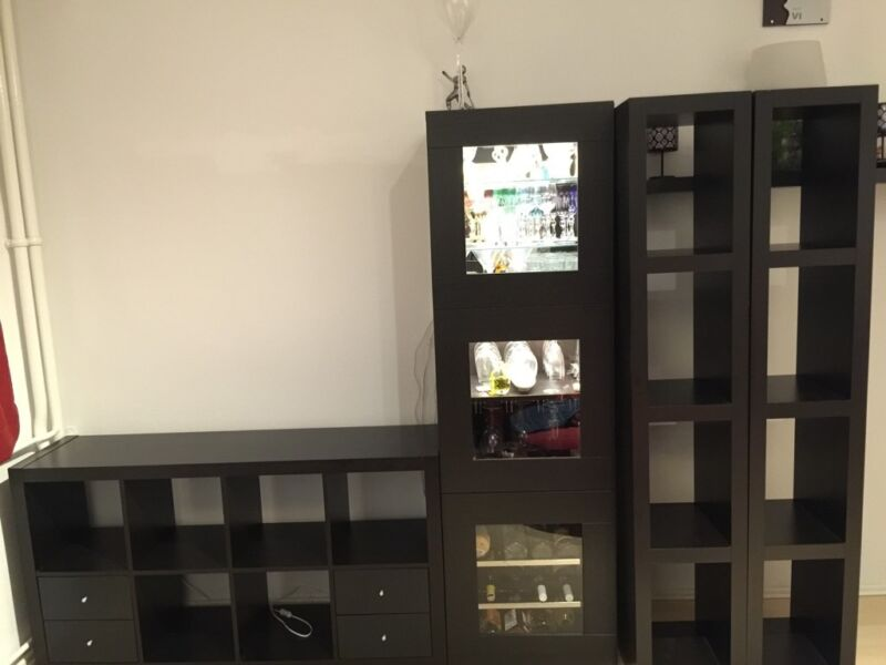 ikea expedit kallax lack regale besta vitrine ohne. Black Bedroom Furniture Sets. Home Design Ideas