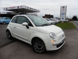 Fiat 500 LOUNGE DUALOGIC (white) 2015