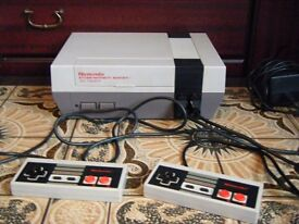 Rare Nintendo entertainment system.