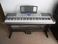 Yamaha DGX-640 , 88-Key Hammer Standard Portable Grand Piano with Keyboard Stand and Pedals.