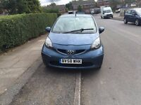 TOYOTA AYGO 58REG VERY LOW 39000 WARRANTED MILES LONG MOT SERVICE HISTORY HPI CLEAR