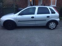 Vauxhall Corsa, open to offers