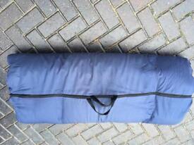 Travel double mattress