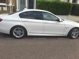 BMW 5 series M sport black leather seat fully loaded