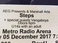 Steps Tickets @ Metro Radio Arena 05/12/17