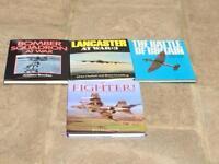 Aircraft books Lancaster bomber spitfire
