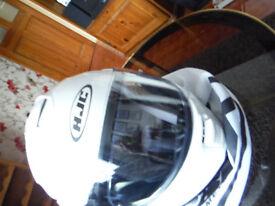 crash helmet hjc max 11 flip front brand new