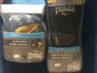 Everlast Boxing Gloves+Pads