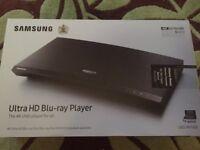Samsung Ultra HD Bluray player