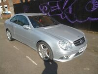 Mercedes CLK 220 CDI,Sports Auto,2148 cc Coupe,FSH,full MOT,drives as new,AMG Alloys,only 59,000