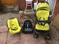 Graco rock candy travel system
