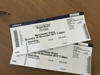 Royal blood tickets Manchester Thursday 16th £80 for 2