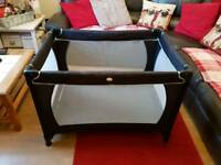 Red kite travel cot for sale