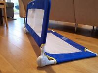 Tomy blue single bed guard rail