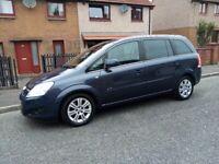 * WOW ! * Vauxhall Zafira 1.7cdti Ecoflex, 7 seater / MPV / ESTATE BARGAIN CHEAP