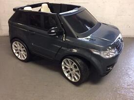 Range Rover / electric car/kids/jag