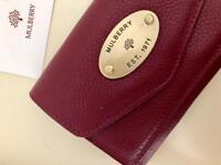 Mulberry Oxblood Purse