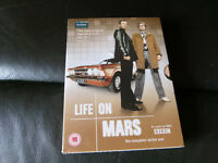 THE COMPLETE SERIES OF LIFE ON MARS DVD NEW