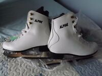 2 Pairs of Ice Skates. Like New. used twice