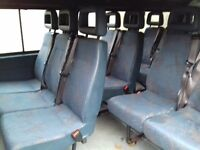 Campervan Van Seats Like New Built in Belts VW LDV Ford Great Condition