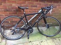 Verenti defence wr2.1 2015 road bike black pristine condition bargain £250
