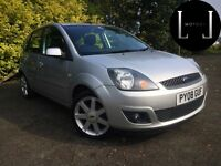 IMMACULATE BLUE EDITION 2008 FORD FIESTA ZETEC 1.2 5 DOOR HATCHBACK [not polo golf civic audi bmw]