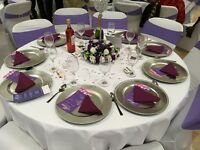 Parties, birthday and wedding centrepieces for hire and setup