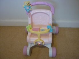 FISHER-PRICE MUSICAL WALKER