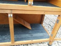 Used Rabbit Hutch - Excellent condition