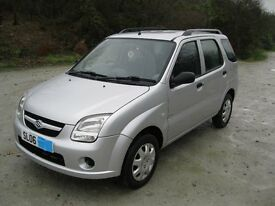 Suzuki Ignis 1.3 GL , New MOT No Advisories , Low Mileage 54K , Upto Date Service History