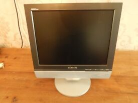 """Samsung lw16m23cps computer TV/PC Monitor 17"""" or 15"""""""