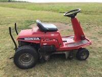Ride on mower sit on lawnmower lawn turf Honda