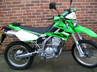 Kawasaki KLX 250S ,Low miles,superb condition,many extras included.