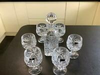 Zona Crystal decanter and glasses