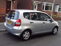 Honda Jazz-Fit 2006, 1246CC , Petrol, Manual, Silver, Only 86000 Miles, £1399 Bolton Manchester UK.
