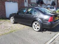 2002 Volkswagen Bora 1.9TDI 130 bhp 6speed gearbox black leather mot jan !!!!!!!!